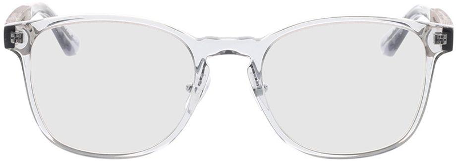 Picture of glasses model Wood Fellas Optical Friedenfels black oak/crystal grey 52-20 in angle 0