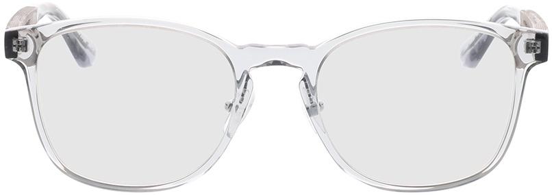 Picture of glasses model Wood Fellas Optical Friedenfels zwart oak/crystal Grijs 52-20 in angle 0