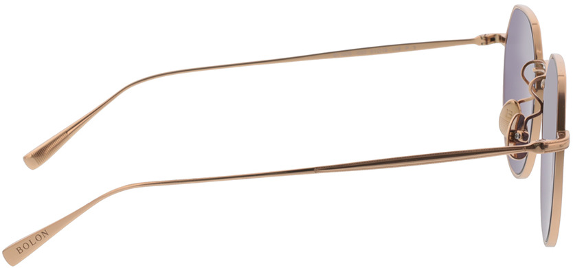 Picture of glasses model Bolon BL1008 C30 51-19 in angle 90