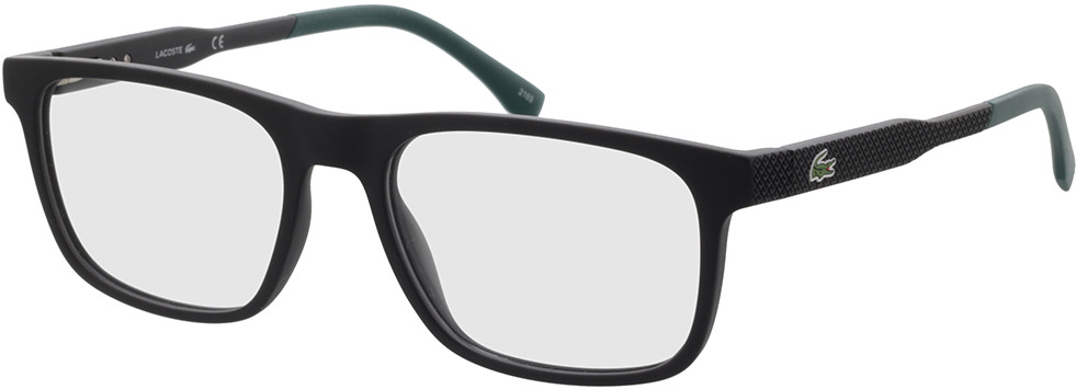 Picture of glasses model Lacoste L2875 001 55-18 in angle 330