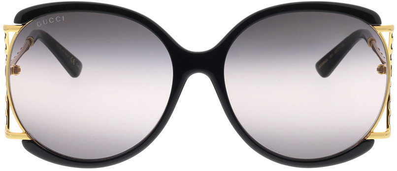 Picture of glasses model Gucci GG0594SA-001 60-17 in angle 0