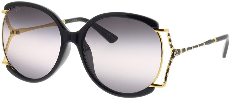 Picture of glasses model Gucci GG0594SA-001 60-17 in angle 330