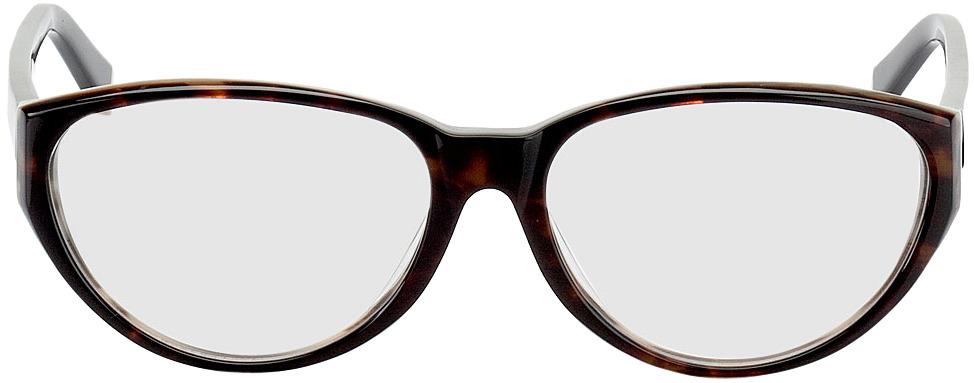 Picture of glasses model Deauville bruin/gevlekt/zwart in angle 0