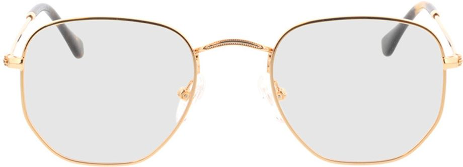 Picture of glasses model Rosario-gold in angle 0