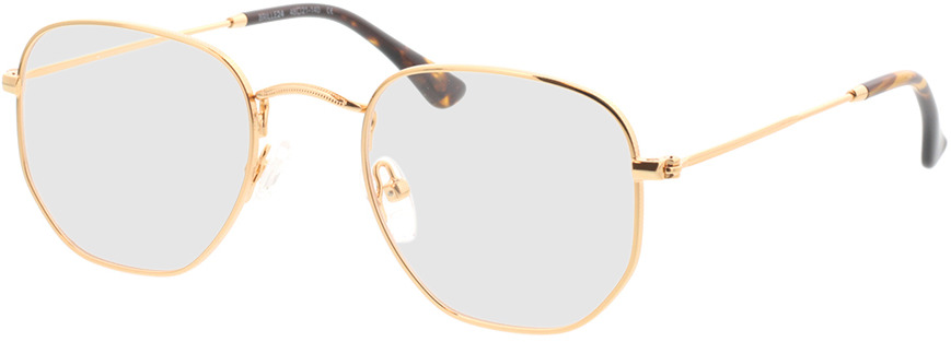 Picture of glasses model Rosario-gold in angle 330
