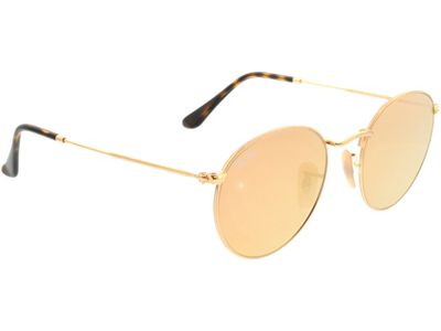 Brille Ray-Ban Round Metal RB3447N 001/Z2 50-21