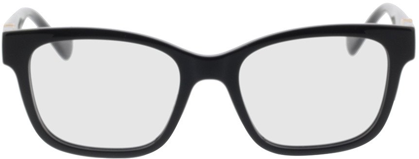 Picture of glasses model Gucci GG1025O-001 51-18 in angle 0