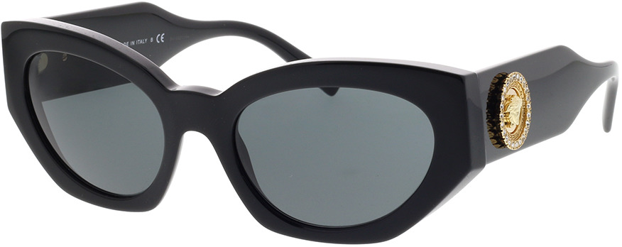 Picture of glasses model Versace VE4376B GB1/87 54-19 in angle 330