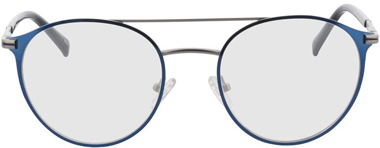 Picture of glasses model Tyler-matt silber/blau in angle 0