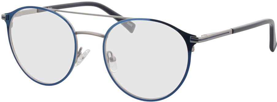 Picture of glasses model Tyler-matt silber/blau in angle 330