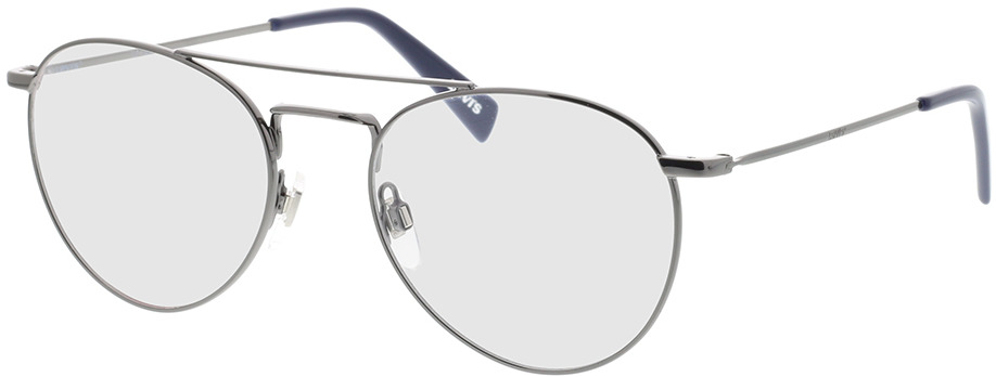 Picture of glasses model Levi's LV 1006 KJ1 52-19 in angle 330