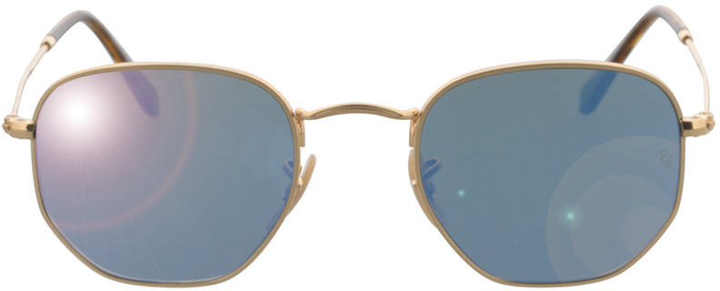 Picture of glasses model Ray-Ban RB3548N 001/9O 48-21 in angle 0