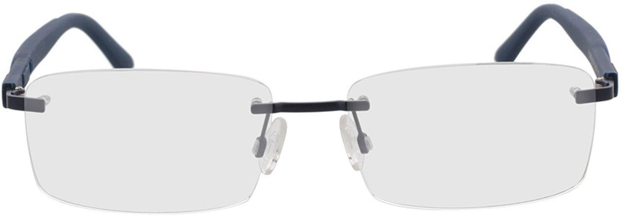 Picture of glasses model Puma PU0330O-003 58-17 in angle 0