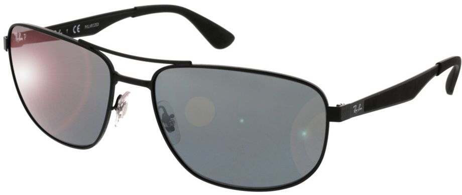 Picture of glasses model Ray-Ban RB3528 006/82 61-17 in angle 330