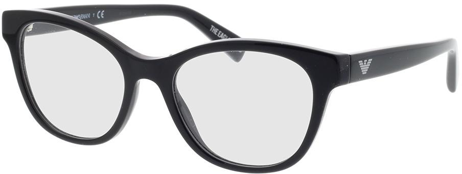 Picture of glasses model Emporio Armani EA3162 5001 52-18 in angle 330