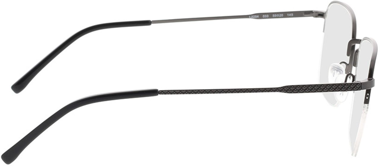 Picture of glasses model Lacoste L2254 033 55-20 in angle 90