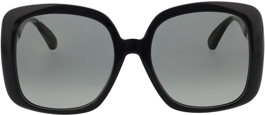 Picture of glasses model Gucci GG0714SA-001 56-19 in angle 0