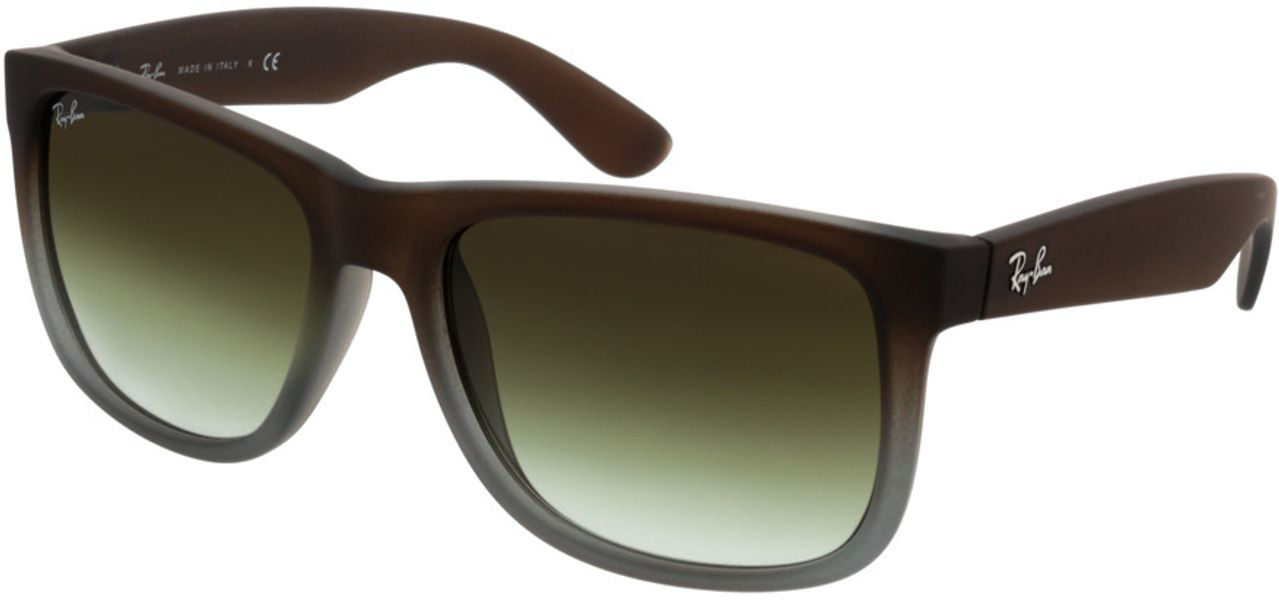 Picture of glasses model Ray-Ban Justin RB4165 854/7Z 54-16 in angle 330
