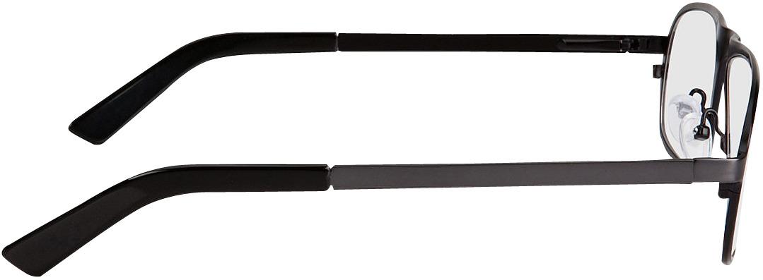 Picture of glasses model Tornio zwart in angle 90