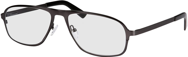 Picture of glasses model Tornio zwart in angle 330