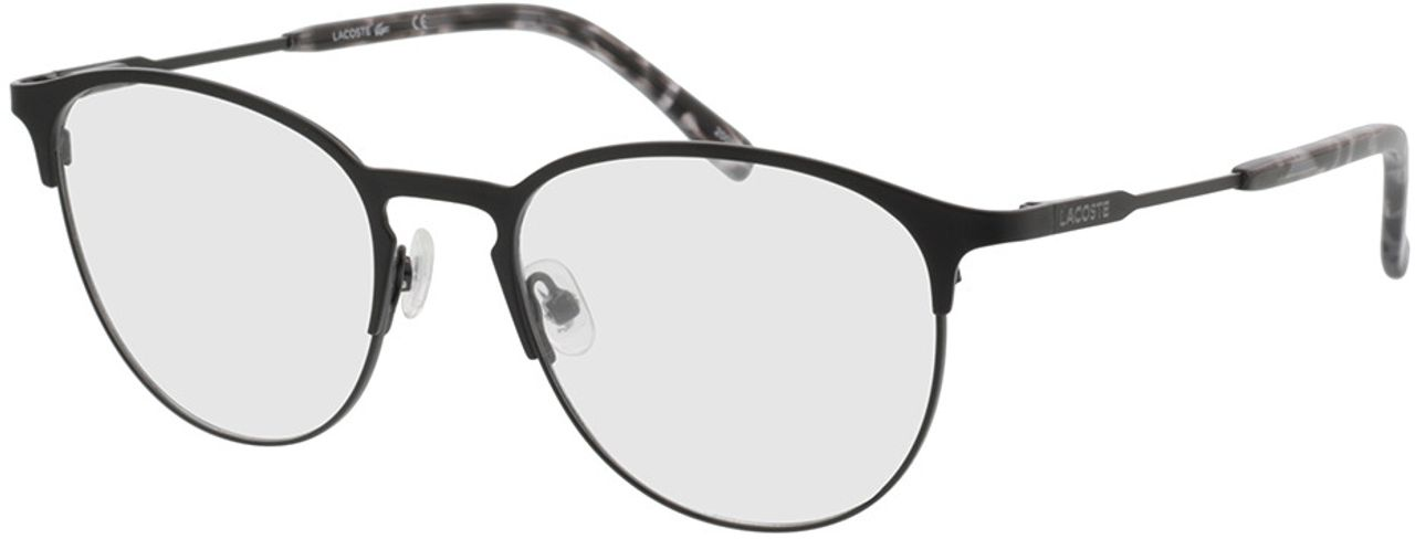 Picture of glasses model Lacoste L2251 001 52-18 in angle 330