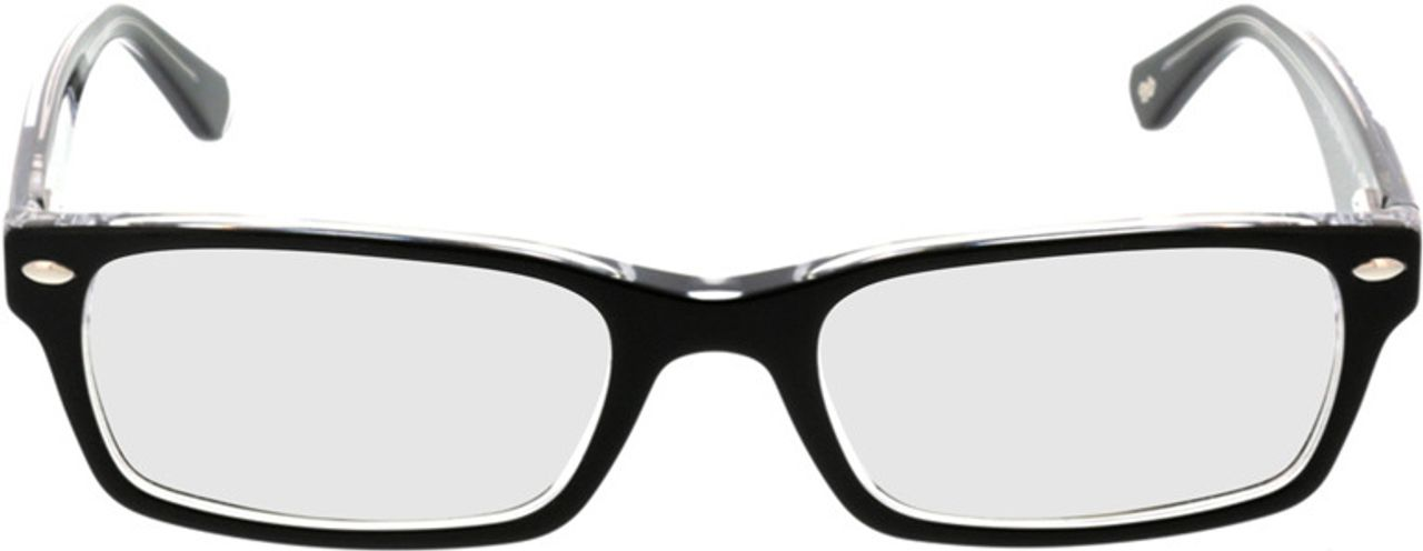 Picture of glasses model Ray-Ban RX5206 2034 52-18 in angle 0
