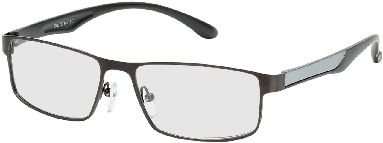 Picture of glasses model Bolton-anthrazit/silber in angle 330