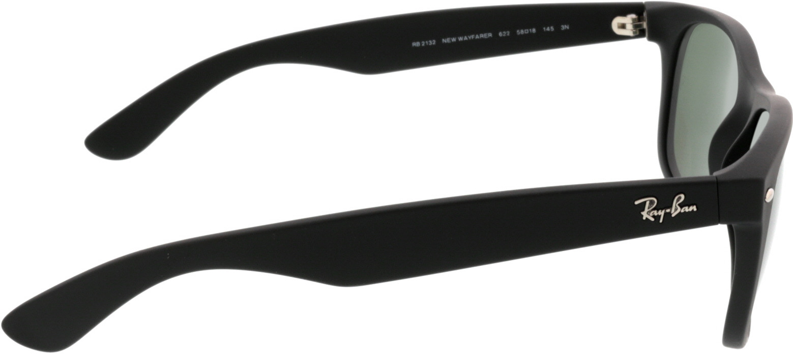 Picture of glasses model Ray-Ban New Wayfarer RB2132 622 58-18 in angle 90
