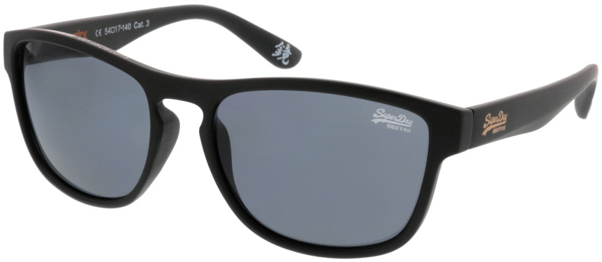 Picture of glasses model Superdry SDS Rockstar 104B schwarz 54 17 in angle 330