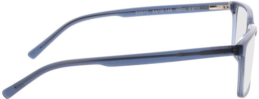 Picture of glasses model Marvic-matt blau in angle 90