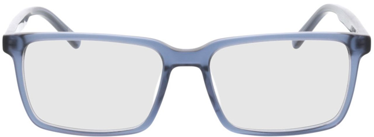 Picture of glasses model Marvic-matt blau in angle 0