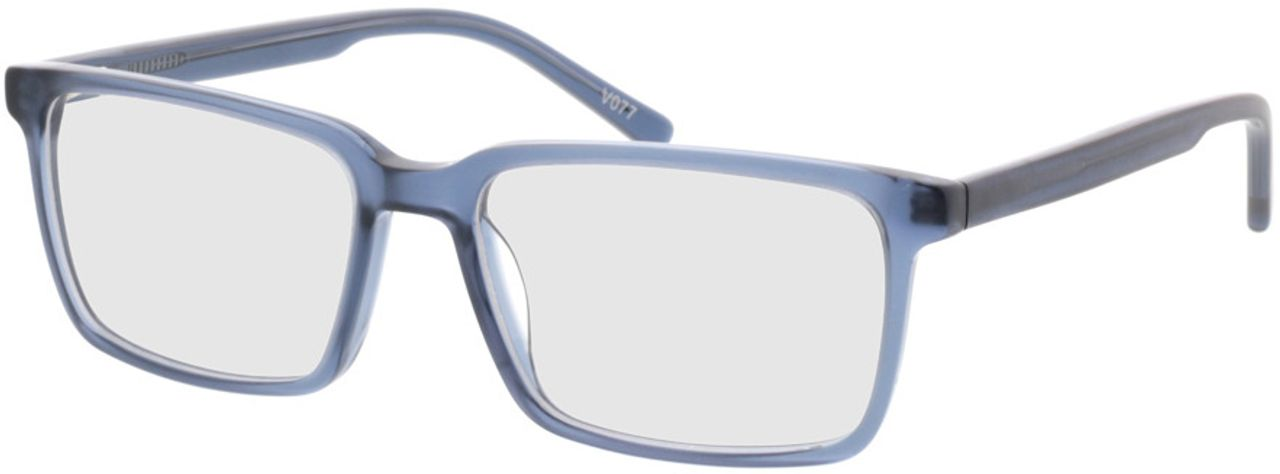 Picture of glasses model Marvic-matt blau in angle 330