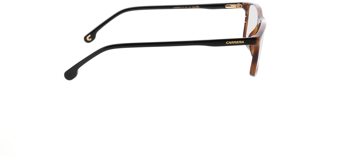 Picture of glasses model Carrera 175/N 086 55-17 in angle 90