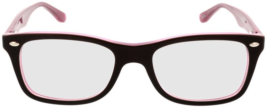 Picture of glasses model Ray-Ban RX5228 2126 50-17 in angle 0