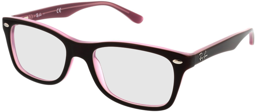 Picture of glasses model Ray-Ban RX5228 2126 50-17 in angle 330