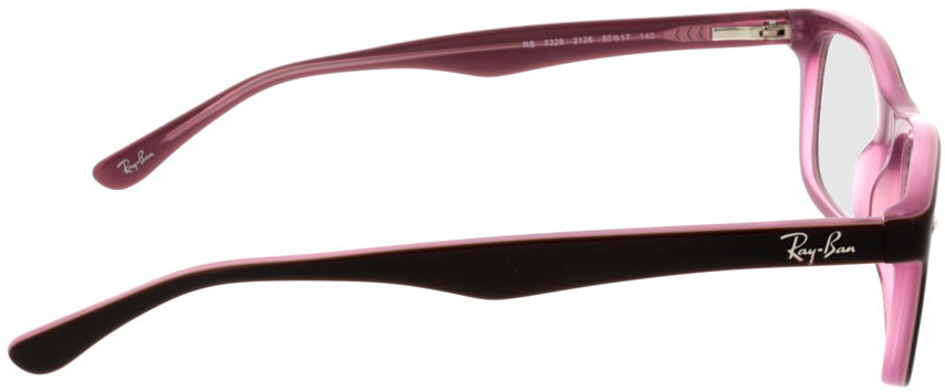 Picture of glasses model Ray-Ban RX5228 2126 50-17 in angle 90