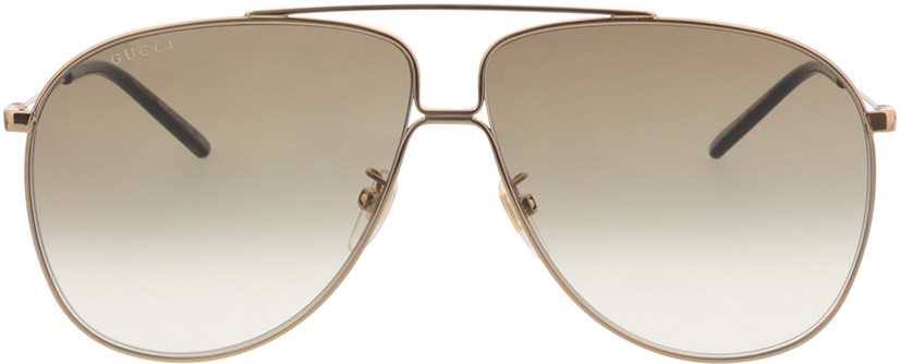 Picture of glasses model Gucci GG0440S-007 63-10 in angle 0