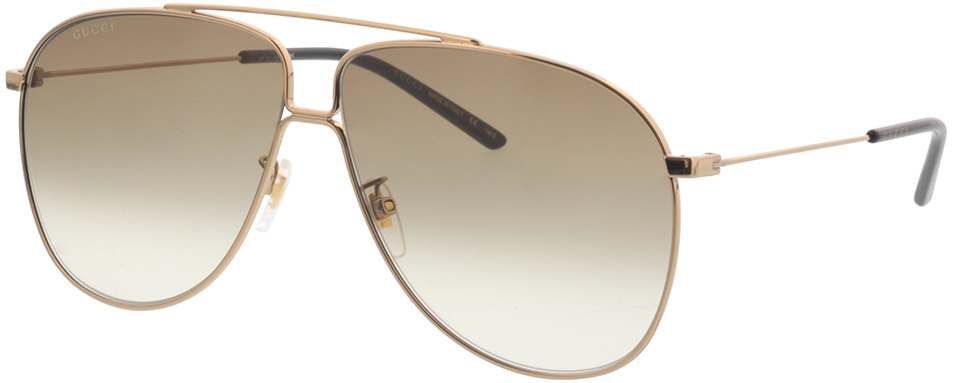 Picture of glasses model Gucci GG0440S-007 63-10 in angle 330