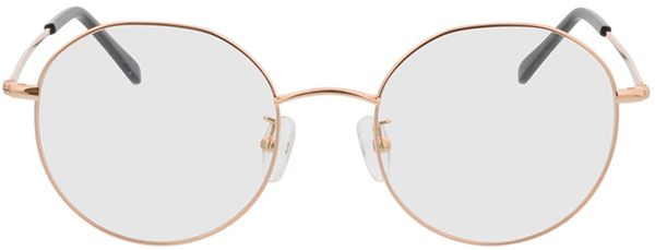 Picture of glasses model Casablanca-copper in angle 0