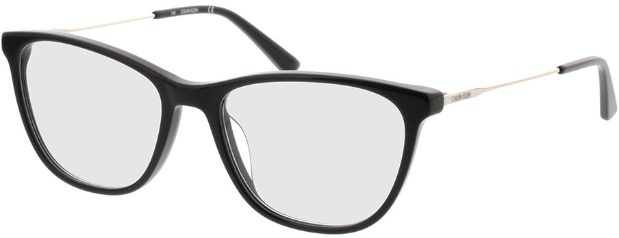 Picture of glasses model Calvin Klein CK38055 001 51-16 in angle 330