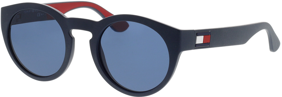 Picture of glasses model Tommy Hilfiger TH 1555/S 8RU 48-22 in angle 330