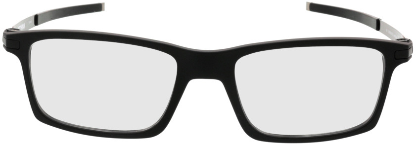 Picture of glasses model Oakley Pitchman OX8050 01 53-18 in angle 0