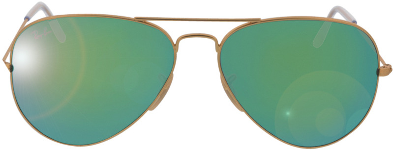 Picture of glasses model Ray-Ban Aviator RB3025 112/19 58-14 in angle 0