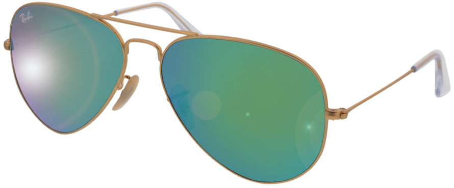 Picture of glasses model Ray-Ban Aviator RB3025 112/19 58-14 in angle 330