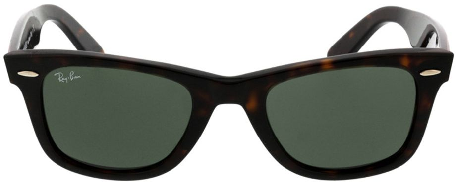 Picture of glasses model Ray-Ban Wayfarer RB2140 902 50-22 in angle 0