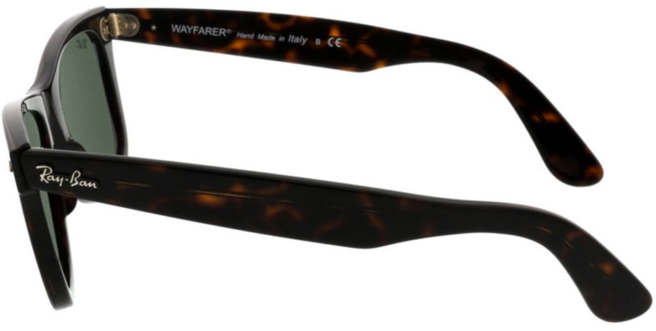 Picture of glasses model Ray-Ban Wayfarer RB2140 902 50-22 in angle 270