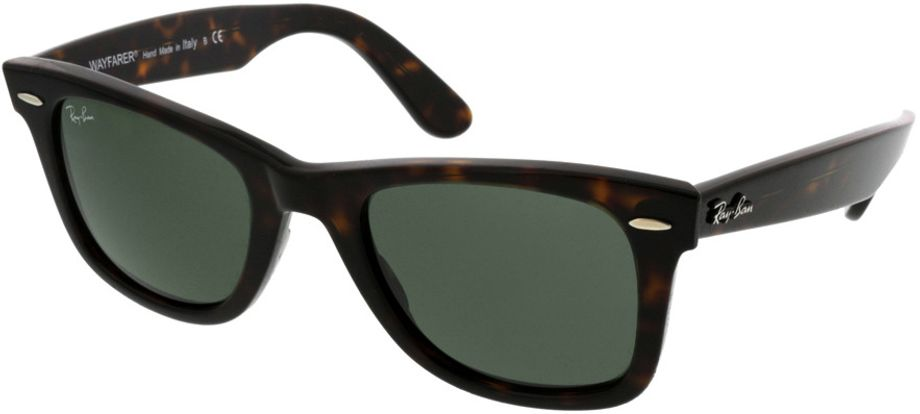 Picture of glasses model Ray-Ban Wayfarer RB2140 902 50-22 in angle 330