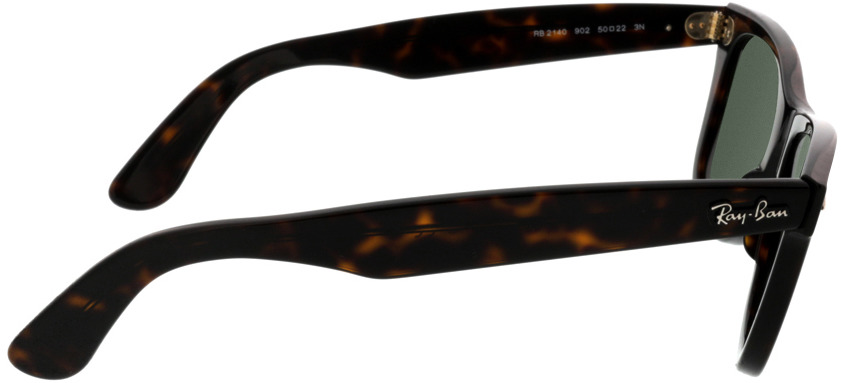 Picture of glasses model Ray-Ban Wayfarer RB2140 902 50-22 in angle 90