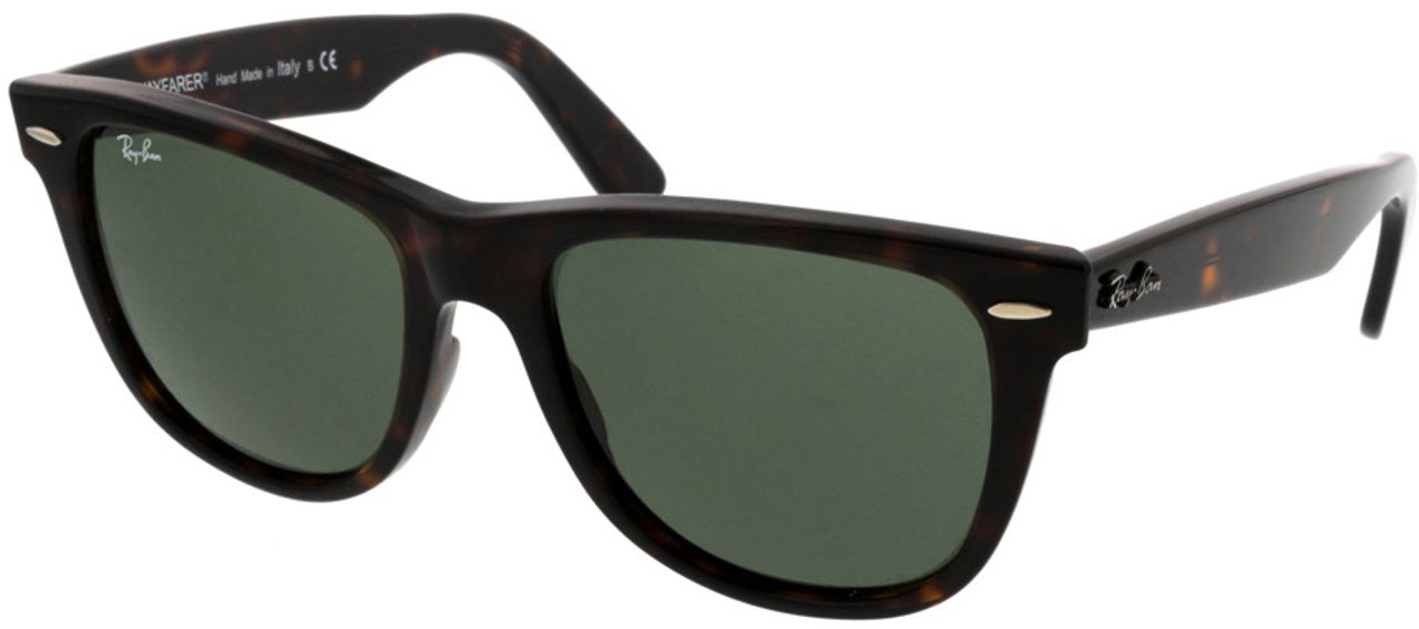 Picture of glasses model Ray-Ban Wayfarer RB2140 902 54-22 in angle 330