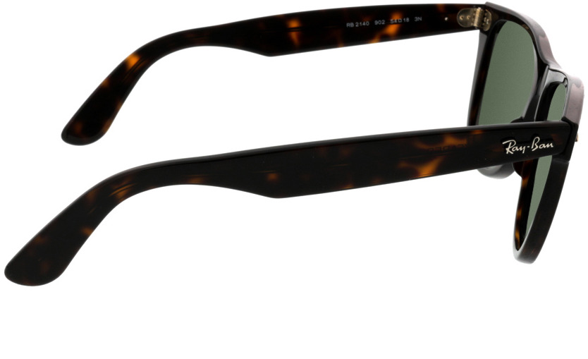 Picture of glasses model Ray-Ban Wayfarer RB2140 902 54-22 in angle 90